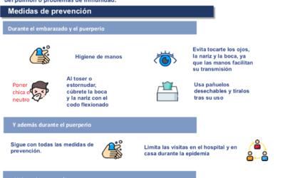 Embarazo y COVID-19. Recomendaciones